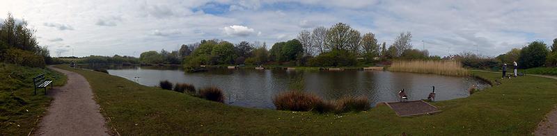 Chequer Lane Fishing Lake 1 - Panorama